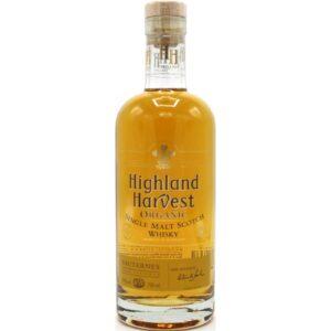 "Highland Harvest Single Malt Organic Scotch Whisky ""Sauternes"""