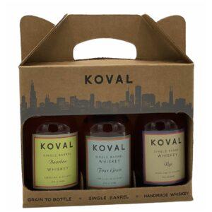 Koval Gift Pack 3x200ml
