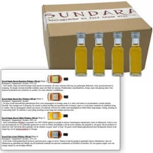 Proeverij: Koval: biologische whisky (4x 20ml)