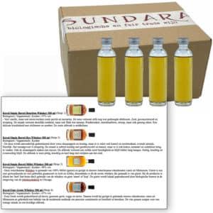 Proeverij: Koval: biologische whisky (4x 50ml)