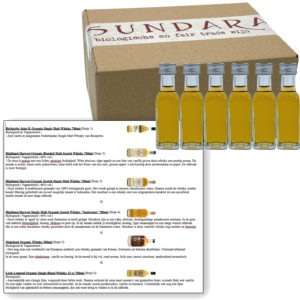 Proeverij: Biologische whisky (6x 20ml)