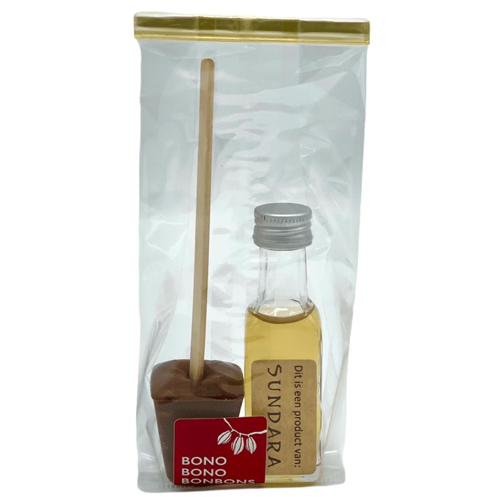 Chocolademelk met Triple Sec